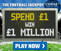 Coral Football Jackpot