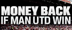 money back if Man Utd win