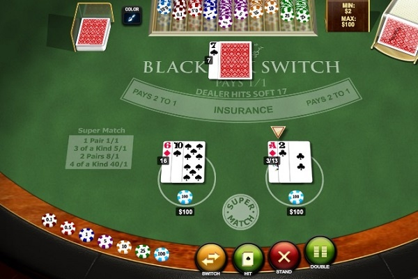 should you switch cards in blackjack?
