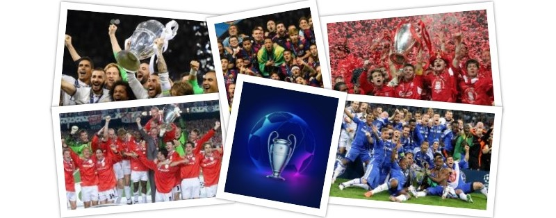 Past Winners of the Champions League
