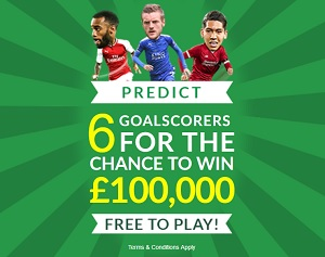 play paddy power hotshot jackpot for the chance to win £100k