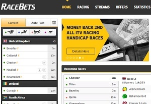 racebets offers BOG & money back to existing customers