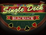 find out which casinos have single deck blackjack online