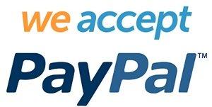 we accept PP logo